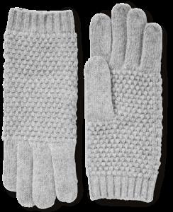 Cashmere Popcorn Knit Gloves image two