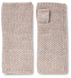 Cashmere Lurex Handwarmers image two