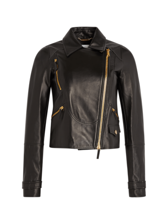 Nappa Leather Chiodo Jacket