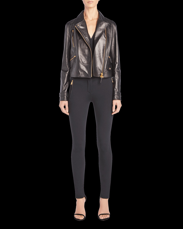 Nappa Leather Chiodo Jacket
