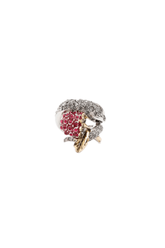 Ring with Snake and Blackberry