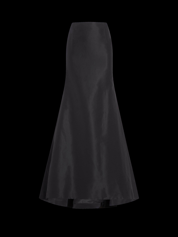 Icon Silk Falle Long Trumpet Skirt