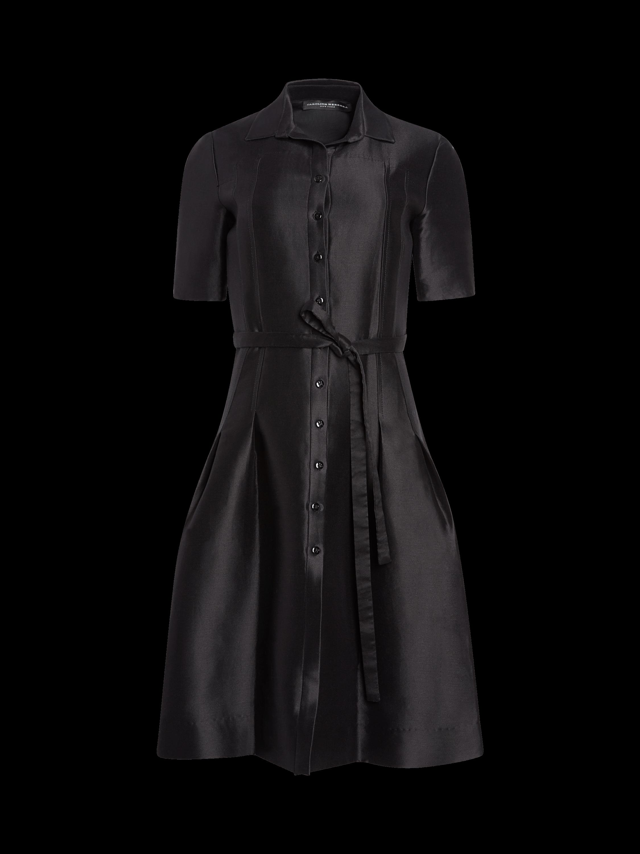 Icon Mikado Cotton & Silk Shirtdress