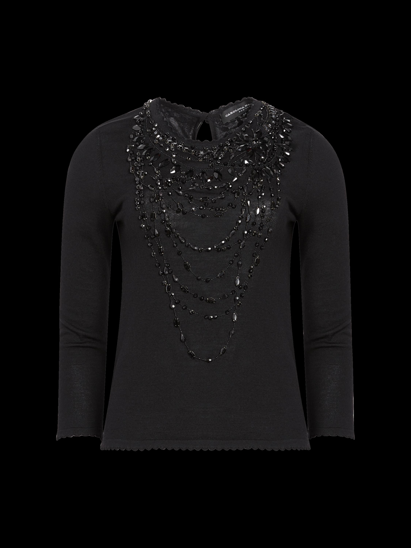 Icon Wool Embellished Top