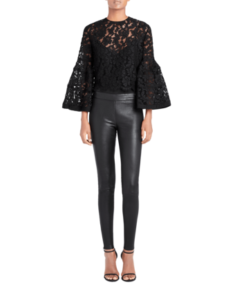 Icon Bell-Sleeve Lace Bolero
