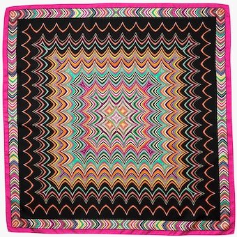 Missoni Silk Square Scarf 2