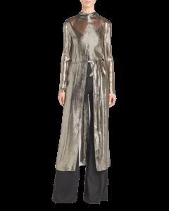 Metallic Long Sleeve Tunic
