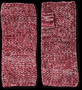 Cashmere Lurex Handwarmers