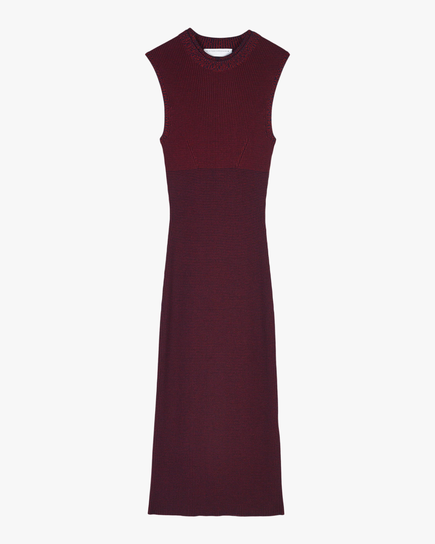 Victoria Beckham Ribbed Crewneck Dress 2
