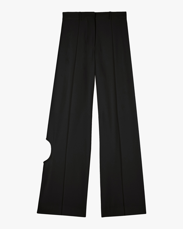 Victoria Beckham Cutout Wide Leg Trousers 2