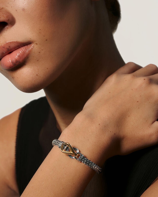 John Hardy Asli Classic Chain Link Gold Chain Bracelet 1