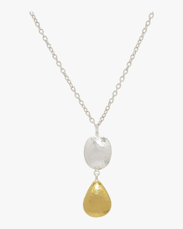 Spell Jordan Double Drop Pendant Necklace