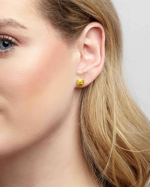 Gurhan Spell Pebble Stud Earrings 1