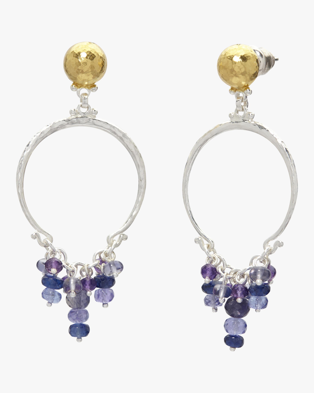 Flurries Tassel Ring Earrings