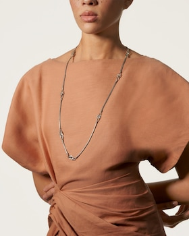 Asli Classic Mini Chain Sautoir Necklace