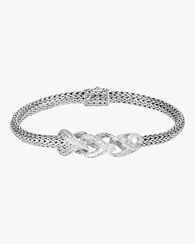 Asli Classic Chain Link Small Silver Chain Bracelet