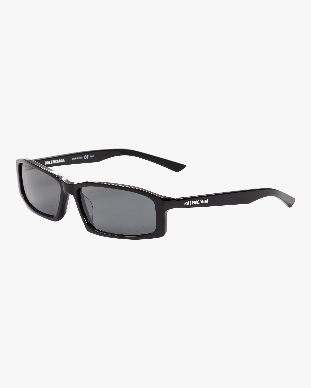 Shiny Rectangular Sunglasses