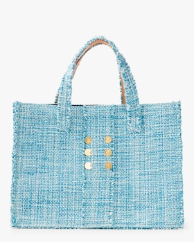 Aquamarine Gold Coins Epiphany Book Tote