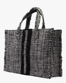 Domino Silver Coins Epiphany Book Tote