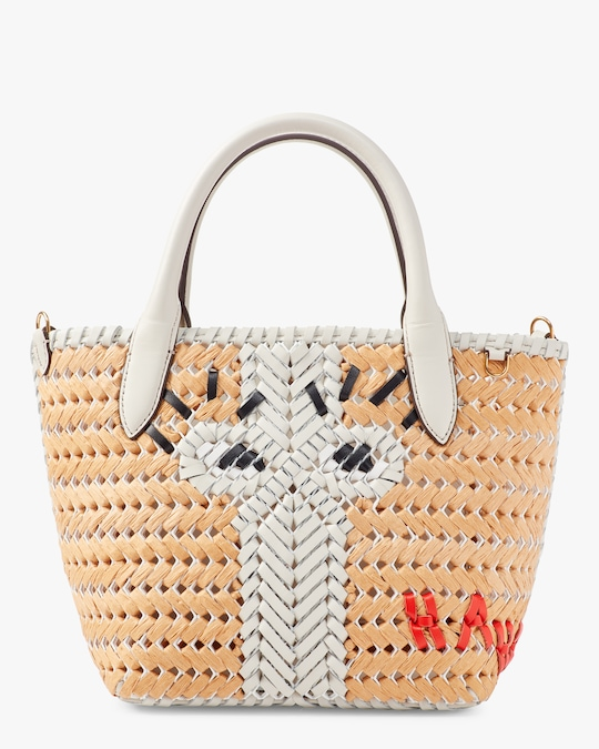 Anya Hindmarch The Neeson Mini Eyes Basket Tote 0