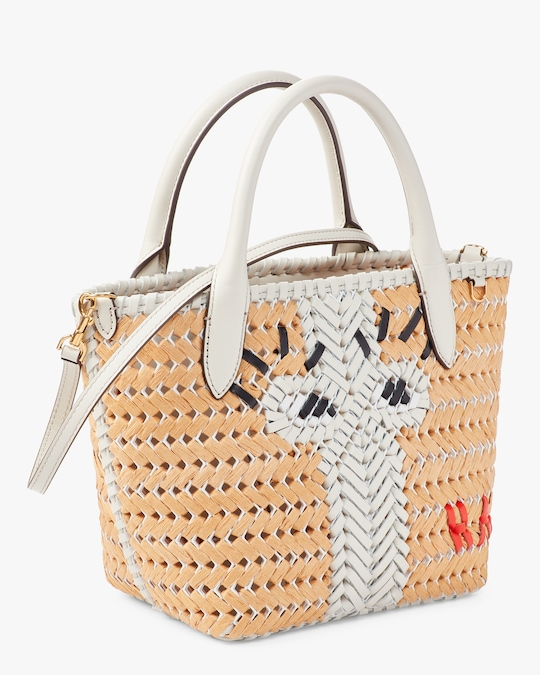 Anya Hindmarch The Neeson Mini Eyes Basket Tote 1