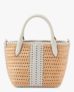 Anya Hindmarch The Neeson Mini Eyes Basket Tote 2