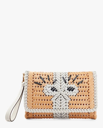 The Neeson Basket Girly Eyes Clutch