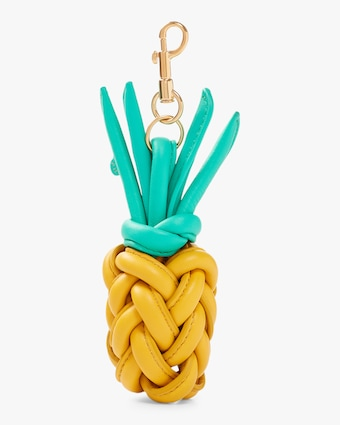 Anya Hindmarch Woven Pineapple Charm 1