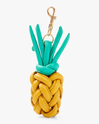 Anya Hindmarch Woven Pineapple Charm 2