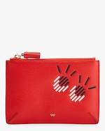 Anya Hindmarch Small Girly Eyes Loose Pocket Pouch 0
