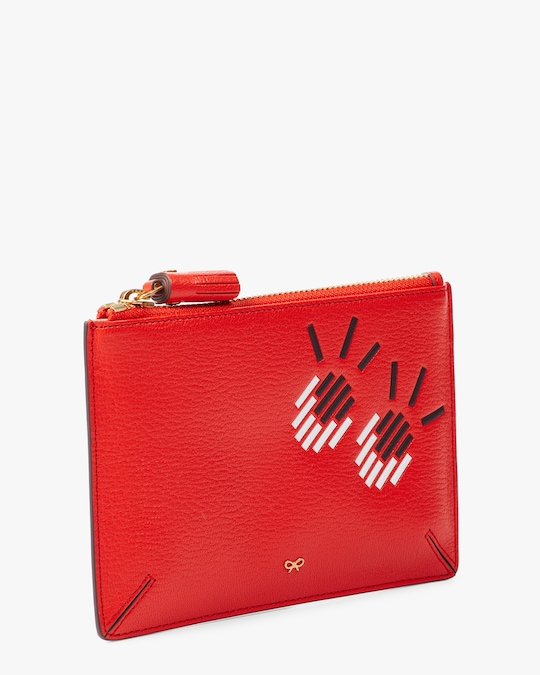 Anya Hindmarch Small Girly Eyes Loose Pocket Pouch 1