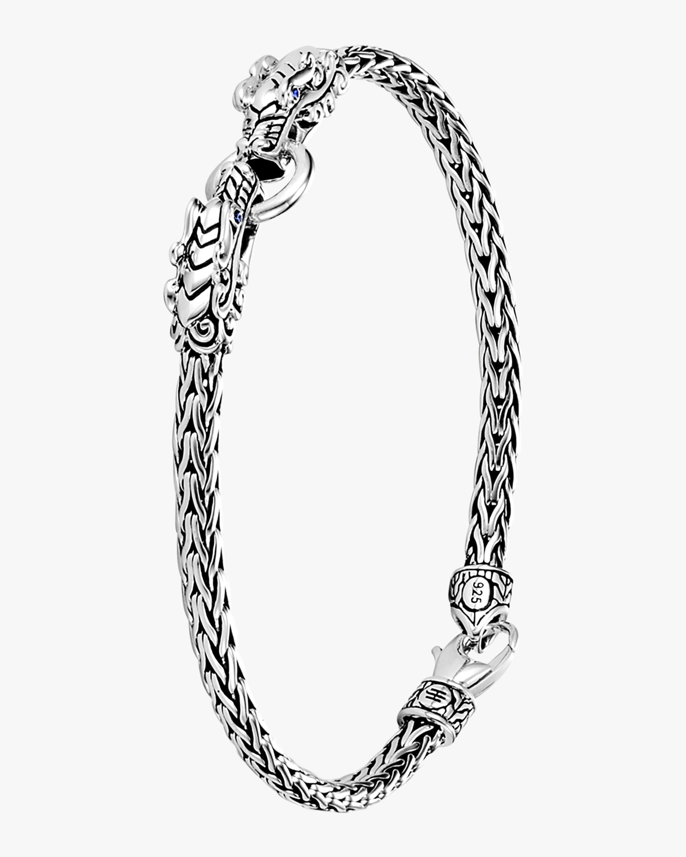 John Hardy Legends Naga Double Dragon Head Bracelet 1