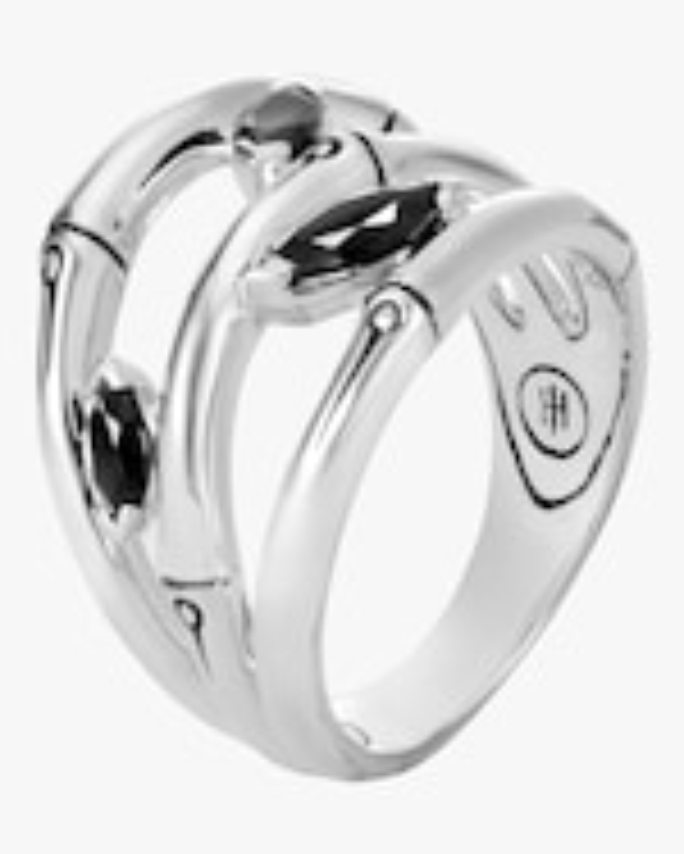 John Hardy Bamboo Silver Ring 0