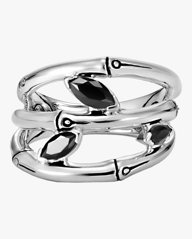 John Hardy Bamboo Silver Ring 2