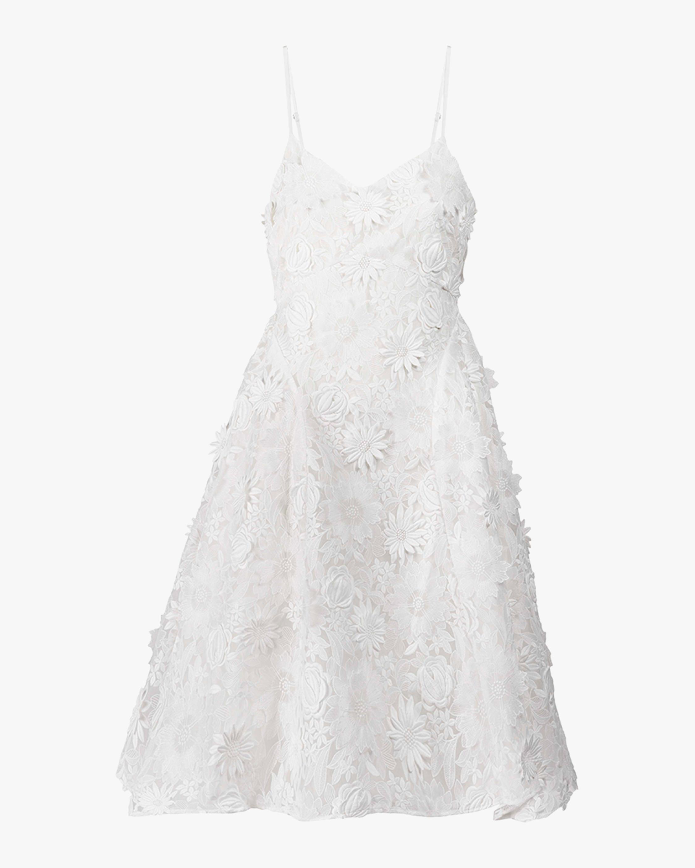 Adrianna Lace Midi Dress