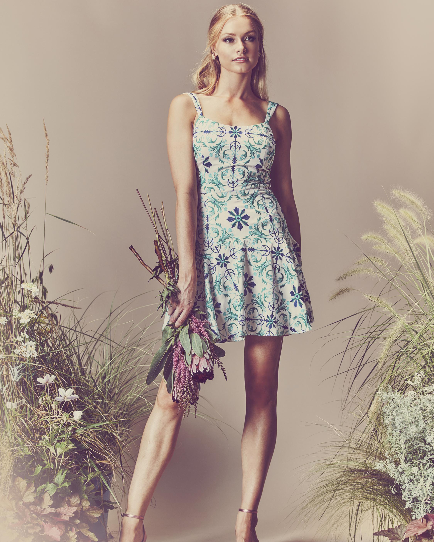 Marian Crepe Mini Dress