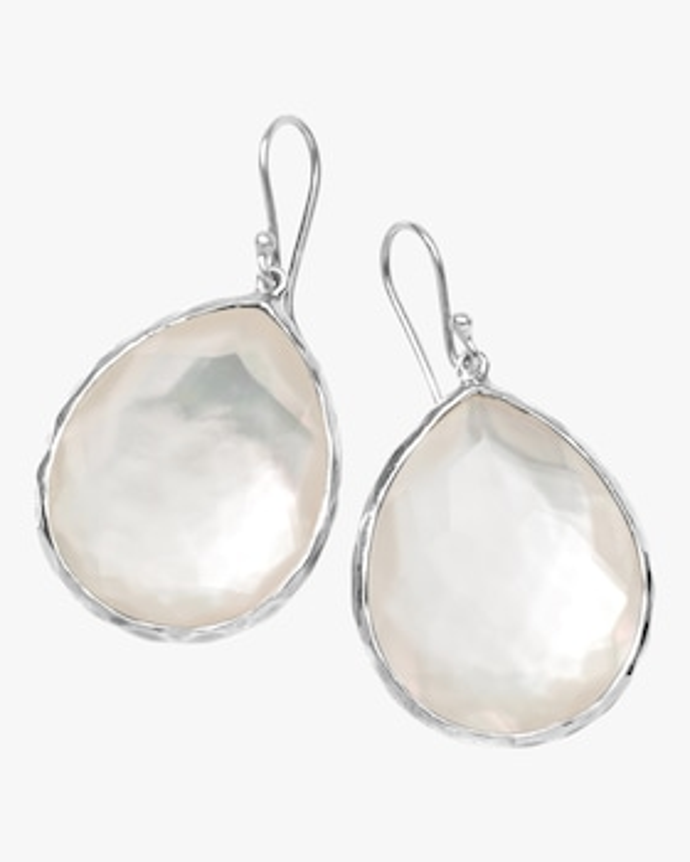 Rock Candy Mother of Pearl Teardrop Earrings