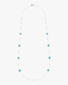 Rock Candy Ball and Stone Station Necklace