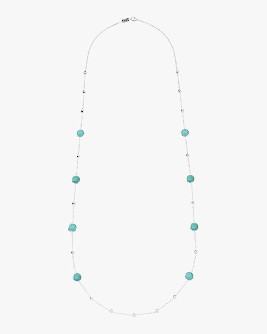 Ippolita Rock Candy Ball and Stone Station Necklace 1