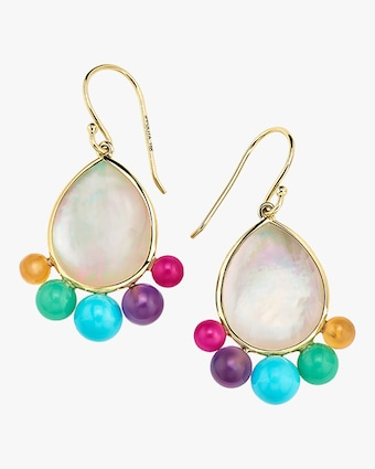 Nova Medium Pear Earrings