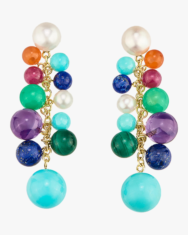 Nova Cluster Chandelier Earrings