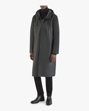 Stockholm Long Logo Raincoat