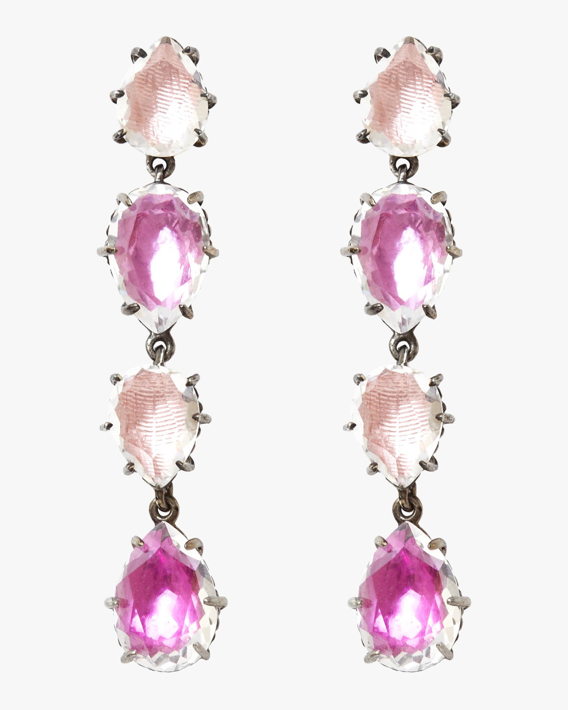 Caterina Single Cascade Earrings