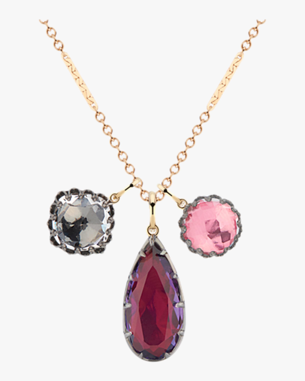 Larkspur & Hawk Lady Emily Triple Cluster Charm Necklace 2