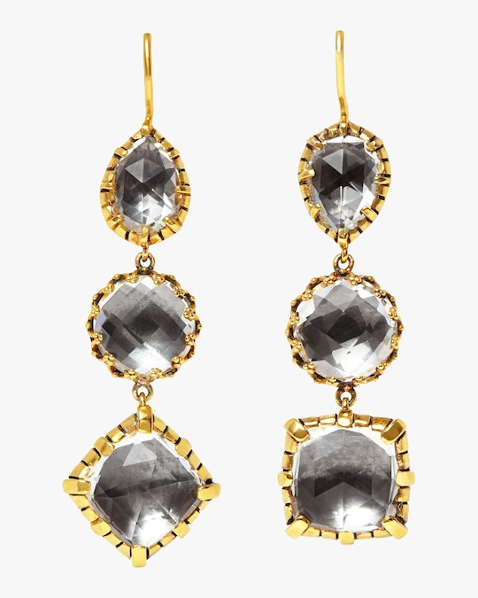Larkspur & Hawk Sadie 3-Drop Earrings 0