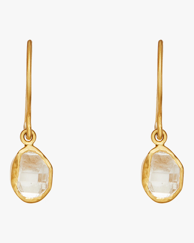 Herkimer Small Drop Earrings