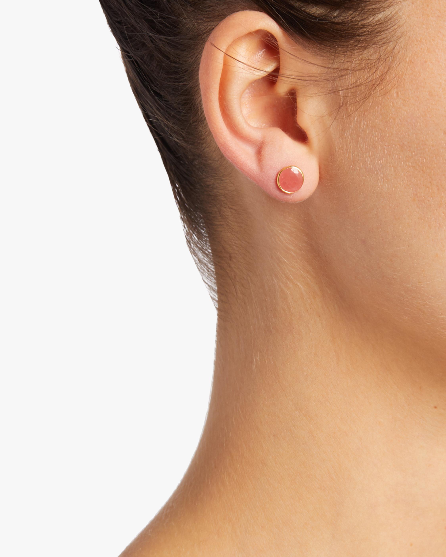 Gold Classic Stud Earrings