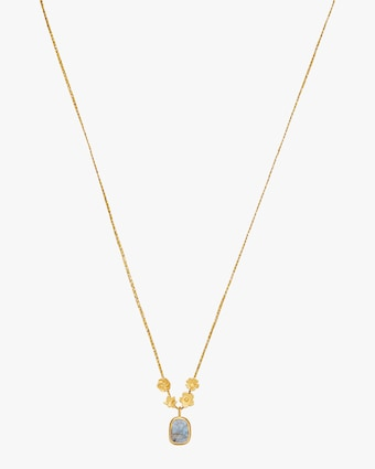 Pippa Small Colette Gold Flower Cluster Pendant Necklace 1