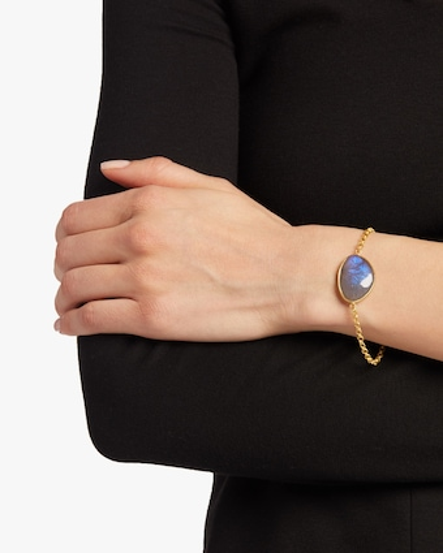 Pippa Small Single Stone Bracelet 2