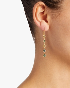 Small Shades of Spring Earrings